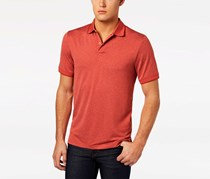 32 Degrees Men's Pro Mesh Polo, Heather Dust Red