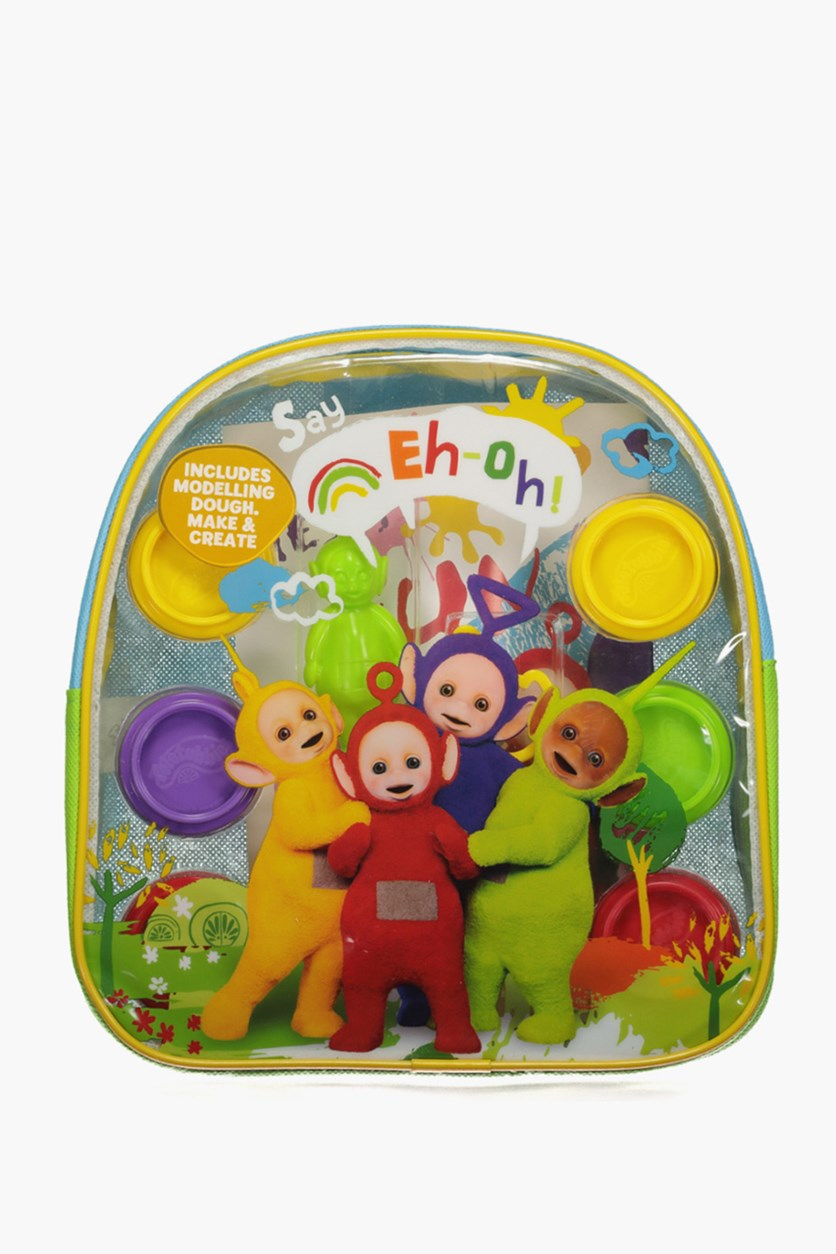 Teletubbies Pre-School Dough Backpack, Lime/Blue Combo