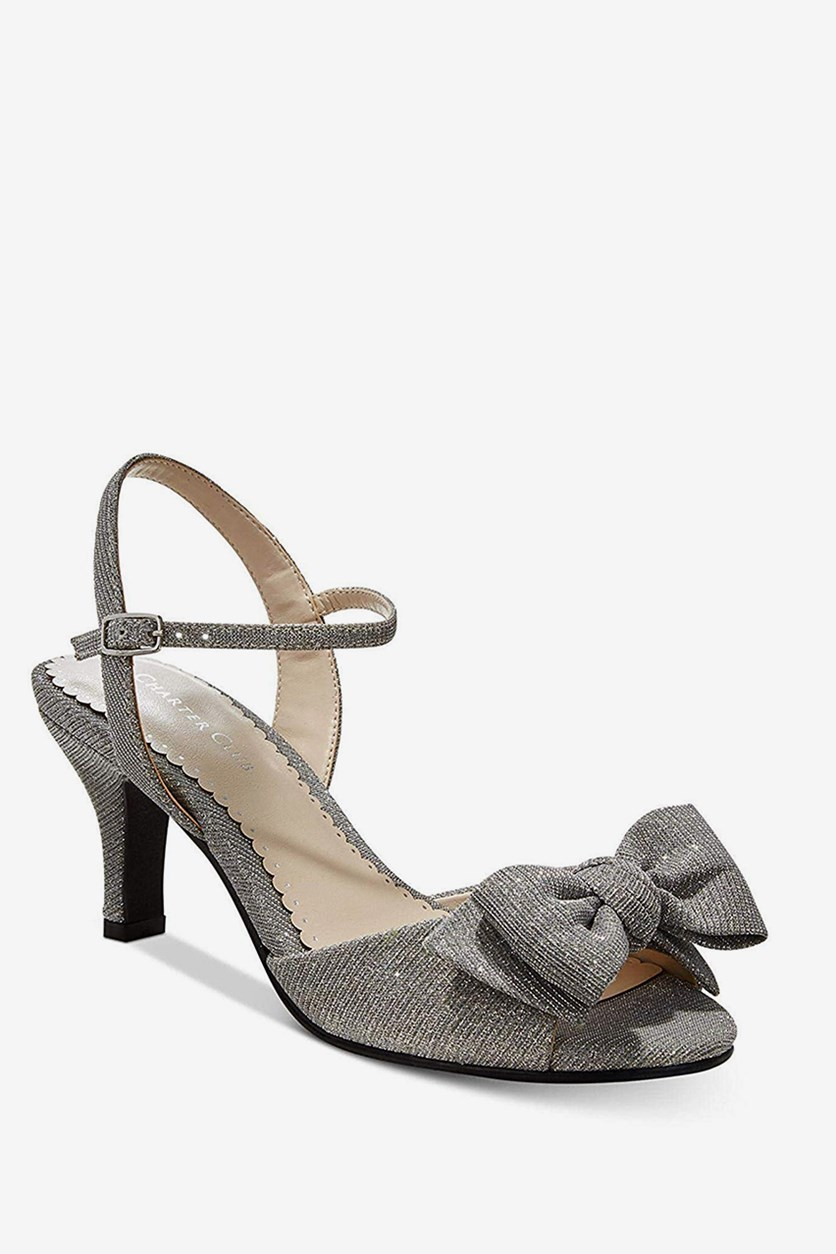 Ulivo Dress Sandals, Silver Glimmer