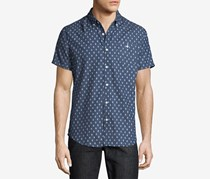 Sovereign Code Town Chambray Regular Fit Button-Down Shirt, Indigo