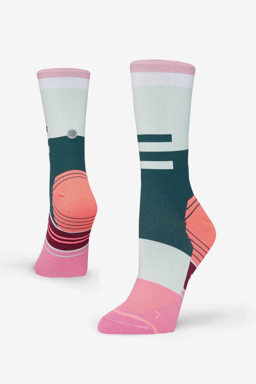 Women's Ciele Athletique Socks, Pink Combo