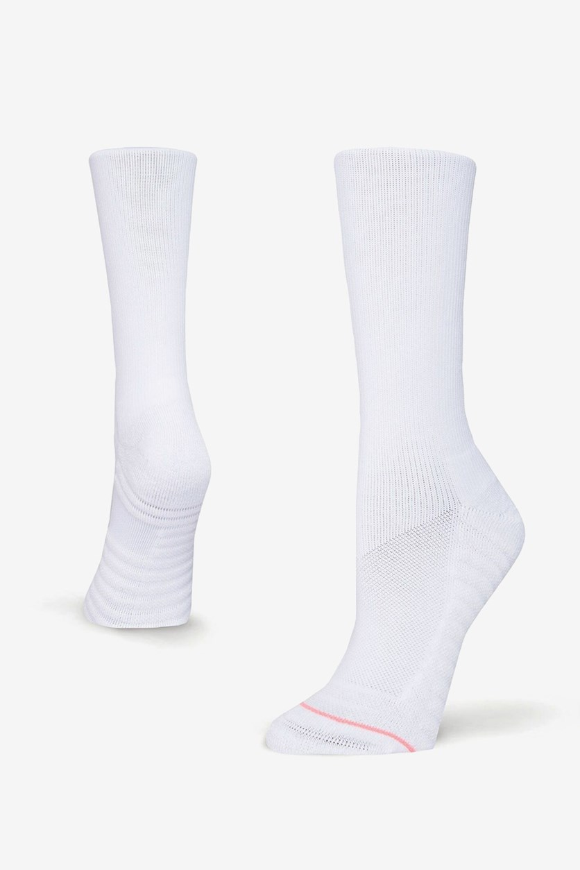 Women's  Icon Crew Socks, White
