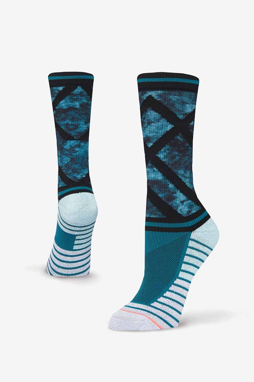 Womens Precision Crew, Teal