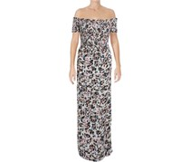 Guess Women's Off-the-shoulder Maxi Dress, Floral