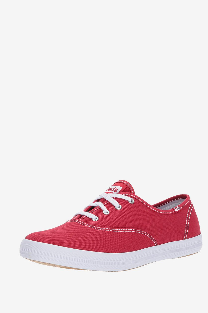 Women's Champion Original Canvas Sneakers, Red