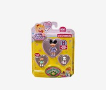 Cabbage Patch Kids - Little Sprouts 4 Pack Friends Set, Purple/White