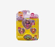 Cabbage Patch Kids Little Sprouts Friends 4 Pack, Purple/Orange