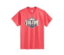 Volcom Little Boys' Graphic-Print T-Shirt, Red
