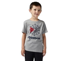 Reebok Boy's T-Shirt, Grey