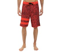Hurley Men's JJF Phantom Board Short, Red/Black