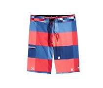 Hurley Men's Blocked Regenerated Board Shorts, Navy/Orange