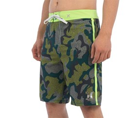 Hurley Men's Phantom Assault Board Shorts, Green