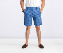 Tommy Bahama Men's Check Your Swing Classic Shorts, Dockside Blue