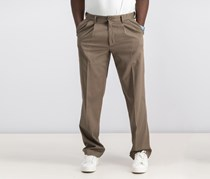 Dockers Relaxed Fit Comfort Khaki Pleated Pants, Dark Pebble