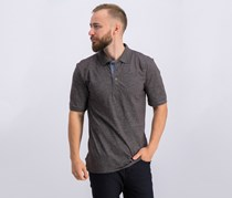 Weatherproof Vintage Mens Melange Polo, Licorice