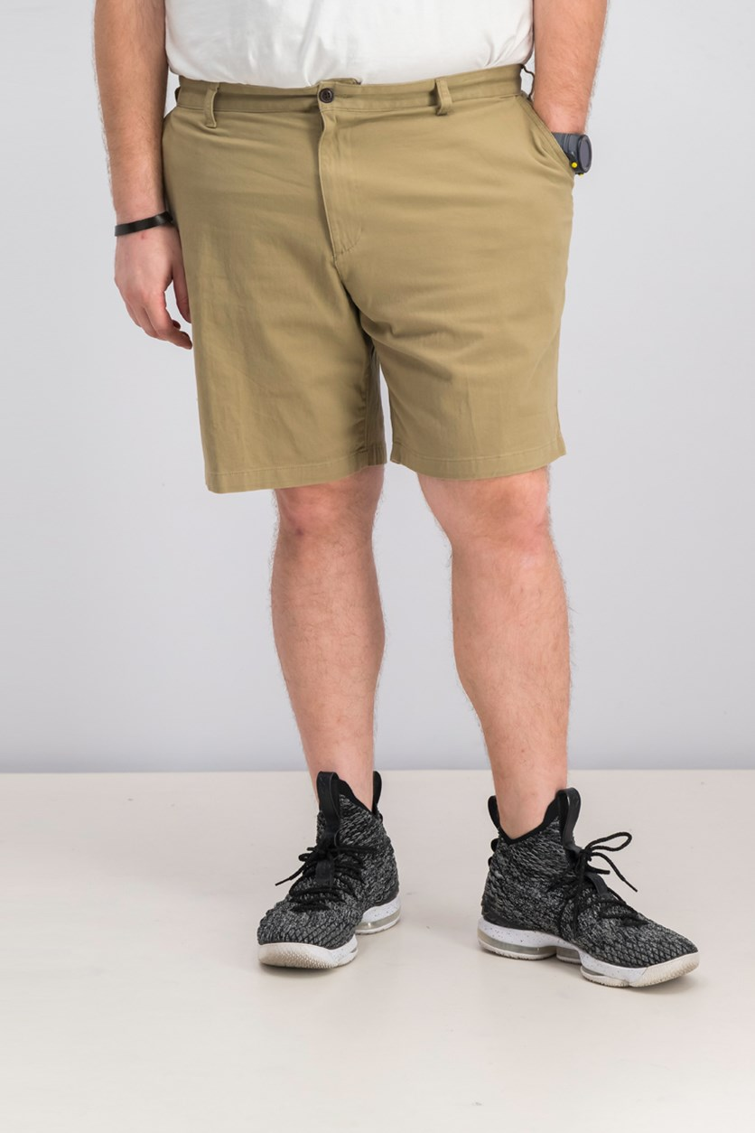Men's Classic Fit Perfect Stretch Short, Bristish Khaki