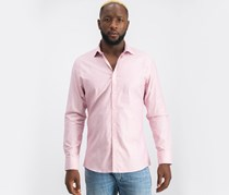Vince Camuto Slim-Fit Techni-Cole Shirt, Red Dobby