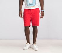 Superdry Mens Sunscorched Classic-Fit Short, Coastal Red