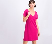 Betsey Johnson V-Neck Dress, Pink