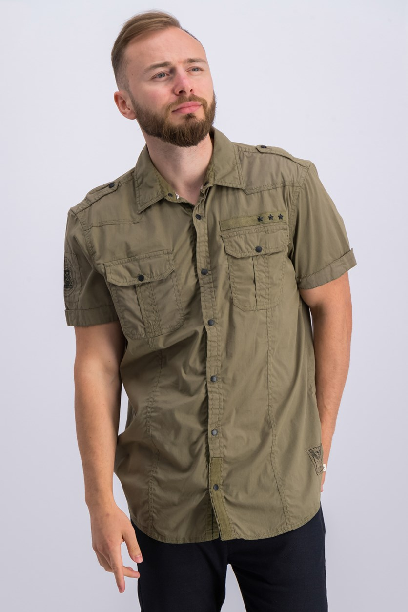 Mens Utility Shirt, Laurier