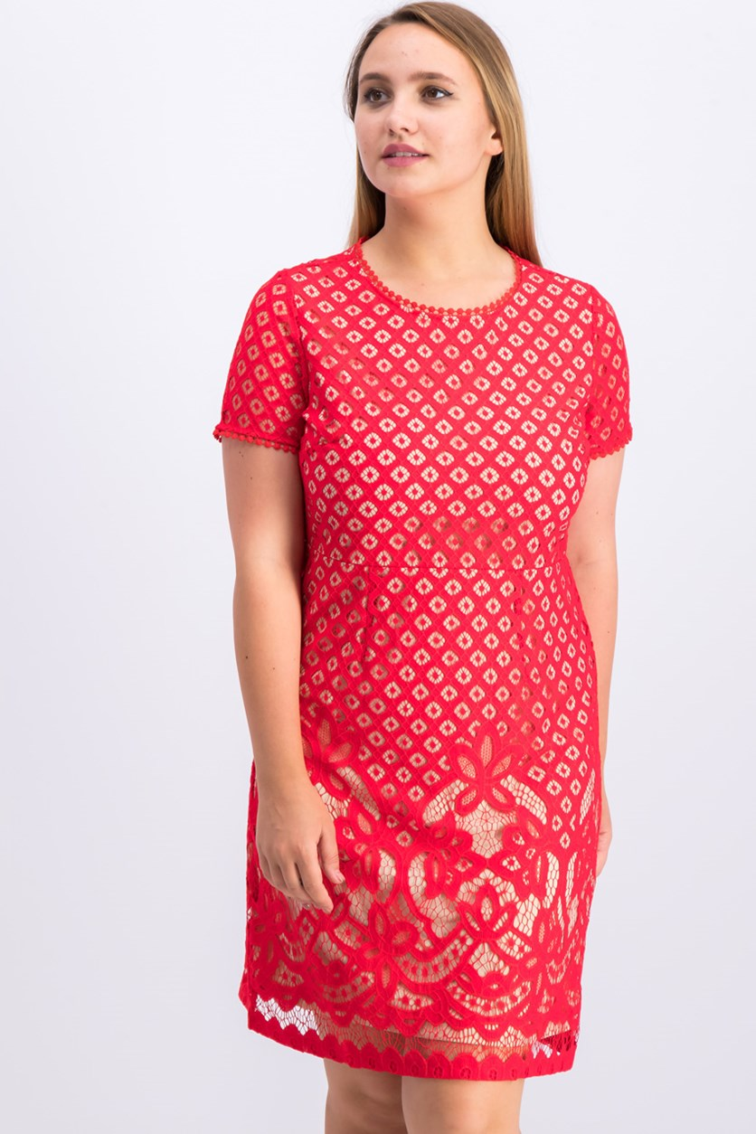 Women's Dress, Red