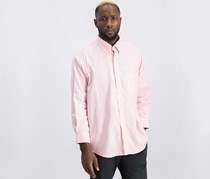 Club Room Men's Slim Fit Performance Easy-Care Oxford Solid Dress Shirt, Pink