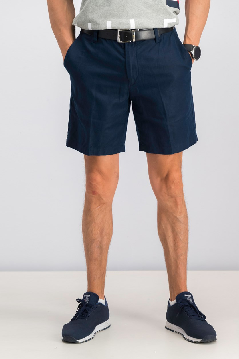 Mens Classic-Fit Shorts, Navy