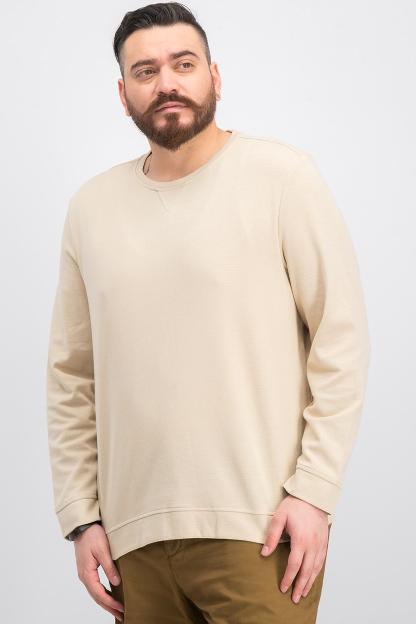 Men's Crewneck Sweater, Birch