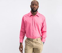 Geoffrey Beene Men's Classic-Fit Wrinkle Free Dress Shirt, Candy