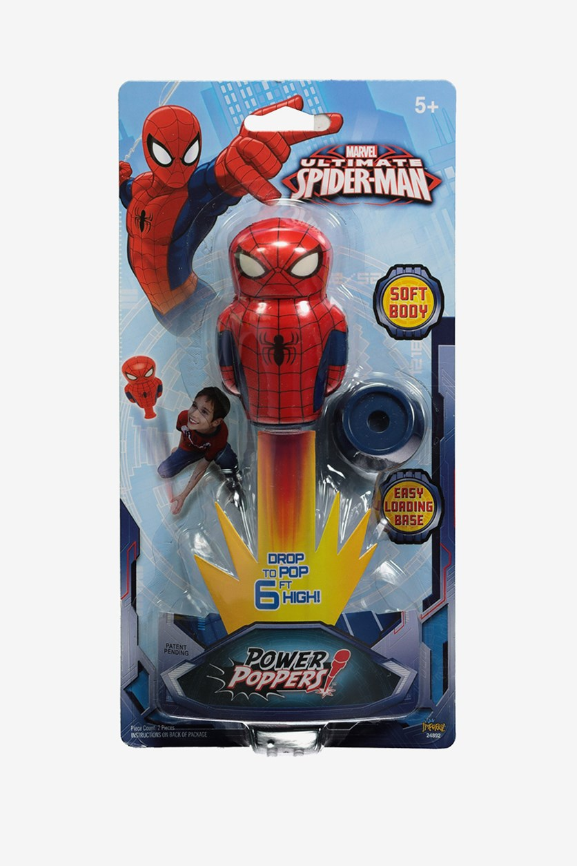 Imperial Licensed Power Popper Spiderman, Red Combo