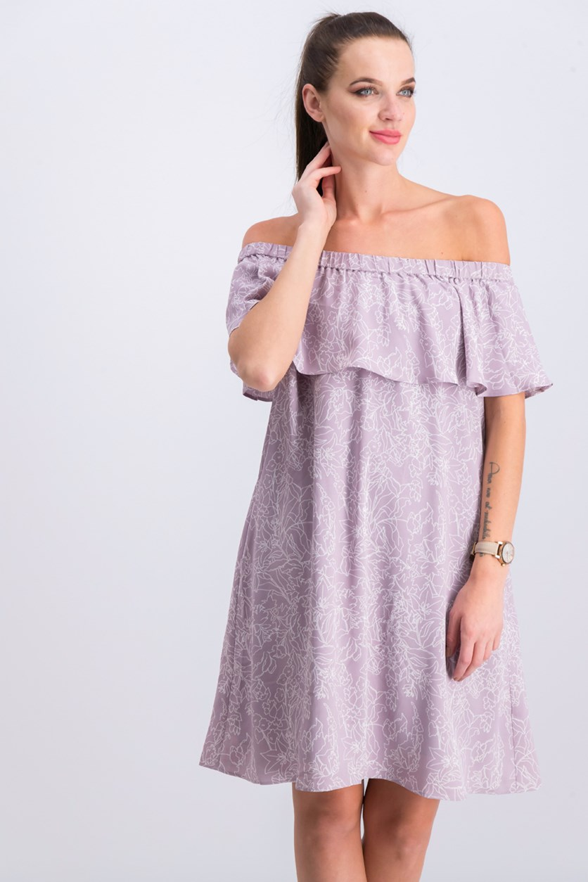 Women's Off-Shoulder Dress, Nirvana