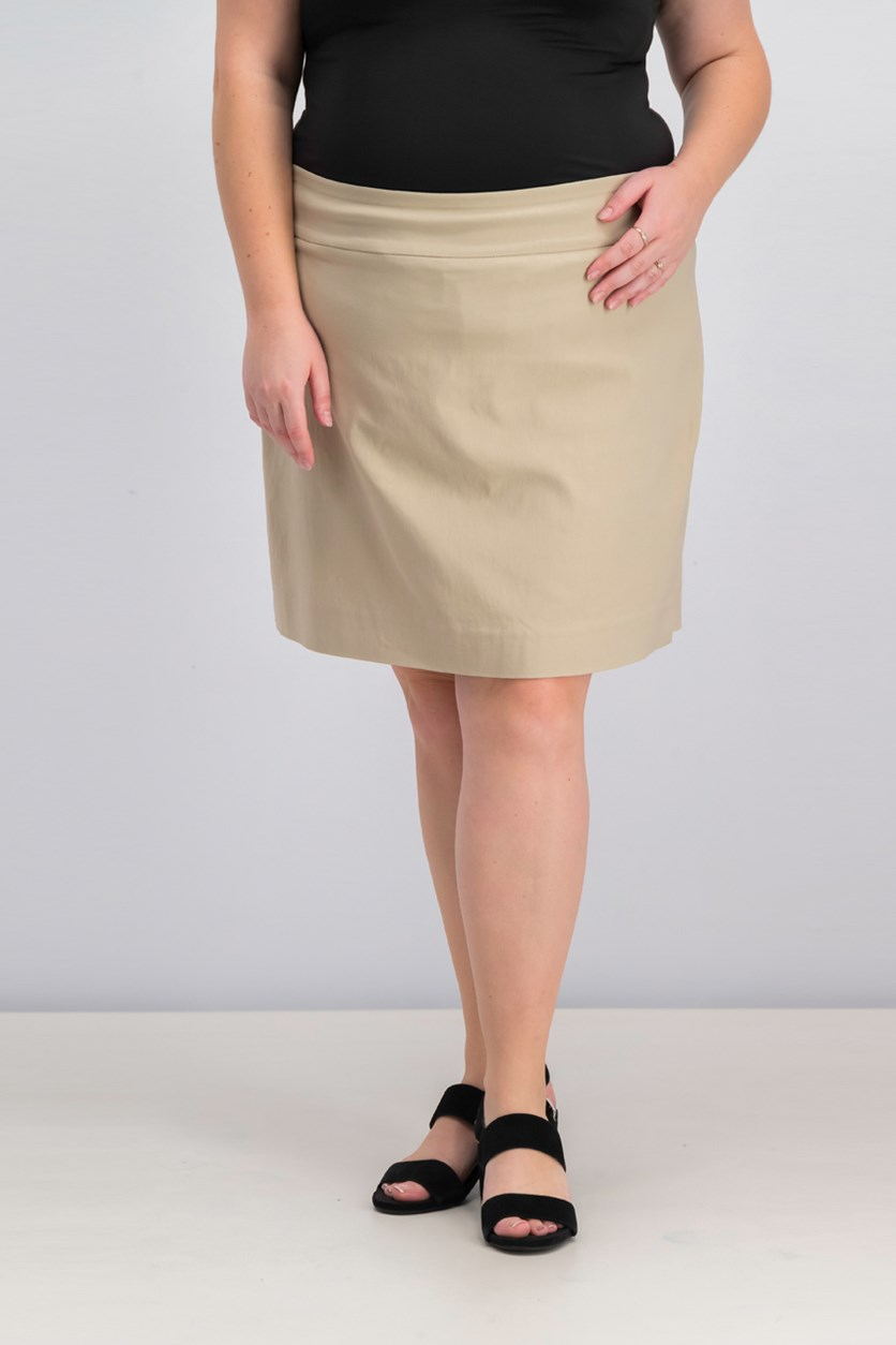 Pull-On Skirt, Sedona Dust