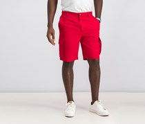 Nautica Men's New Navigator Cargo Short, Nautica Red