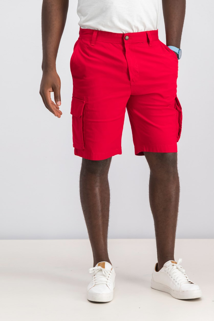 Men's New Navigator Cargo Short,  Red