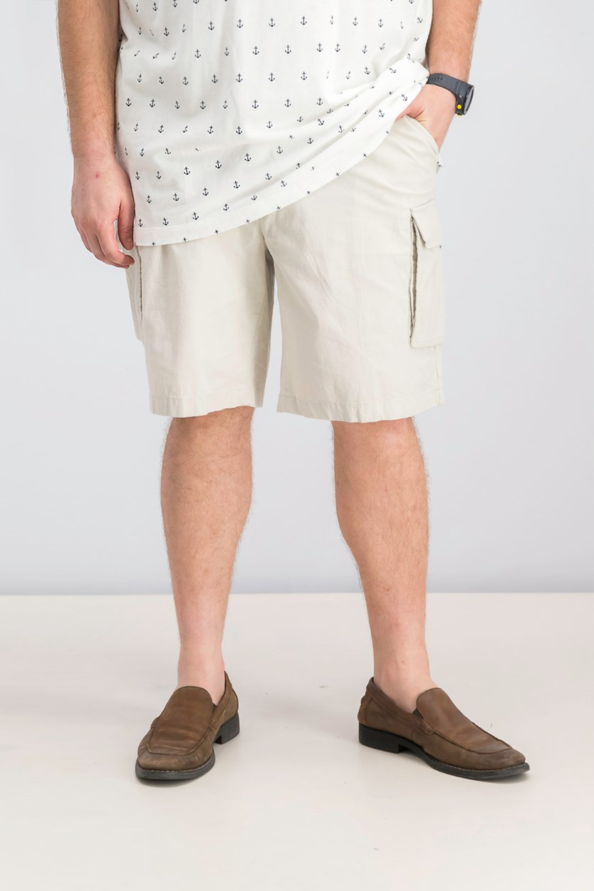 Mens New Navigator Cargo Short, Stone