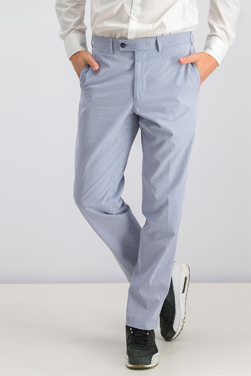 Men's Striped Pants, Blue