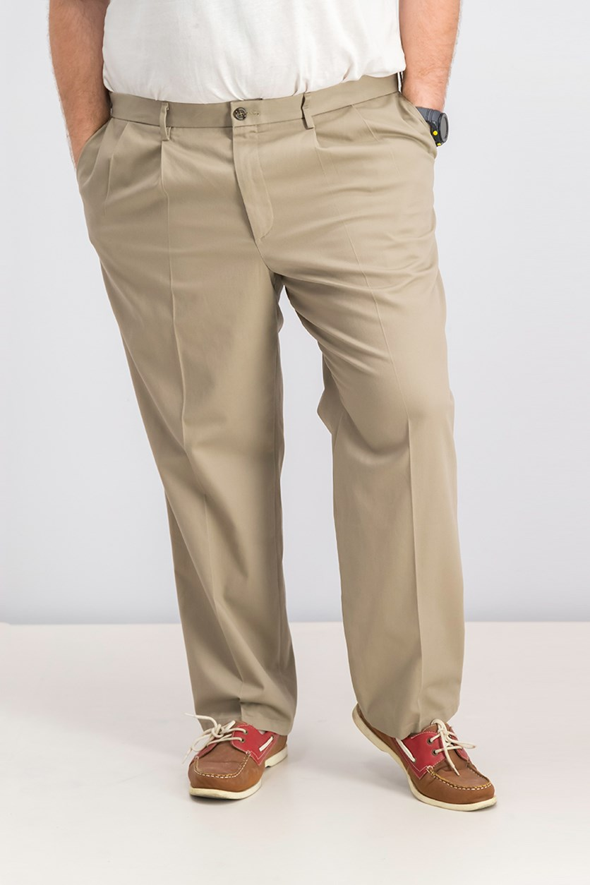 Men's Signature Classic-Fit Pants, Timberwolf