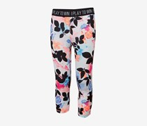Ideology Tropical-Print Cropped Leggings, Tropic Floral