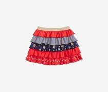 Epic Threads Toddler Ruffled Scooter Skirt, Tomato