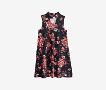 Epic Threads Girl's  Floral-Print Dress, Deep Black