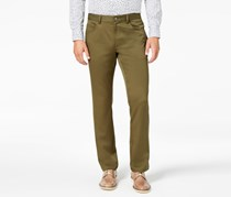 Inc International Concepts Mens Slim-fit Pants, Olive Mist