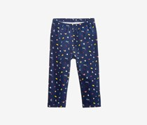 First Impressions Baby Girls Abc Graphic-Print Leggings, Medieval Blue