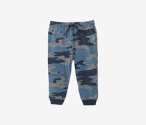 First Impressions Baby Boys Camo-Print Jogger Pants, Grey/Blue