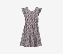 Epic Threads Printed Dress, Pewter Heather