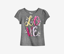 Epic Threads Toddler Girls Graphic-Print T-Shirt, Charcoal Heather