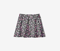 Epic Threads Little Girls Printed Scooter Skirt, Gray