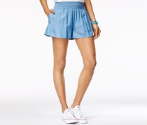 The Edit By Seventeen Women's  Smocked-Waist, Blue