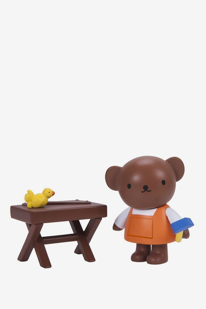 Miffy's Adventures Big and Small Boris at the Workshop, Brown