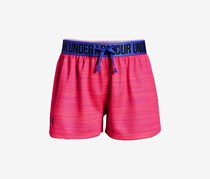 Under Armour Big Girls Play Up Shorts, Pink