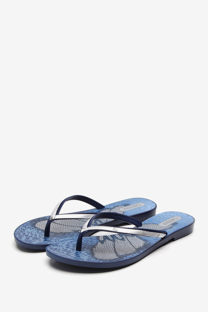 Acai IV Chin Sandals, Blue